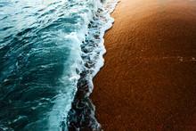 Sea Surf On Waters Edge