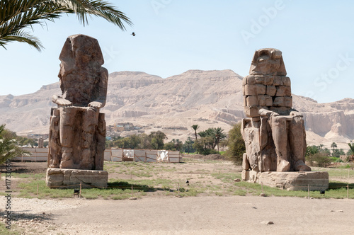 Photo Stands Egypt Karnak Temple in Egypt king tomb place view