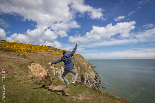 Photo  les falaises de Howth