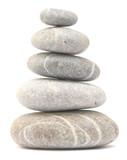 Fototapeta Kamienie - balancing stone tower