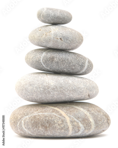 Canvas Print balancing stone tower