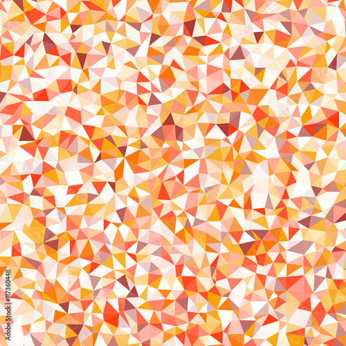 Foto op Aluminium ZigZag Abstract colorful triangulated geometric background for illustrations and banners