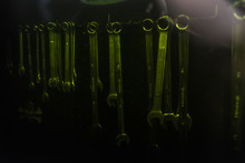 Set Of Several Steel Wrenches