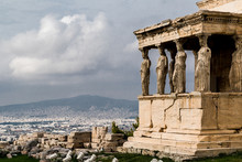 The Caryatid Porch Of TheEre...