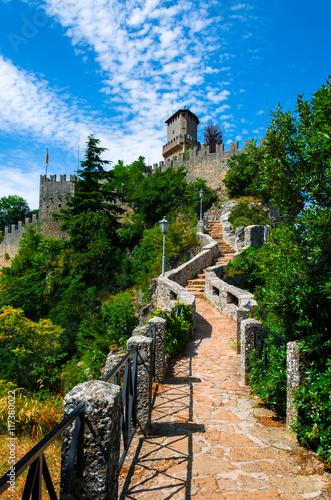 Aluminium Prints Mills Castle of San Marino.