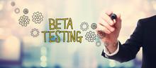 Businessman Drawing Beta Testi...