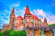 Medieval Castle In Hunedoara, ...