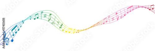 音符 楽譜 音楽 アイコン - 117403618