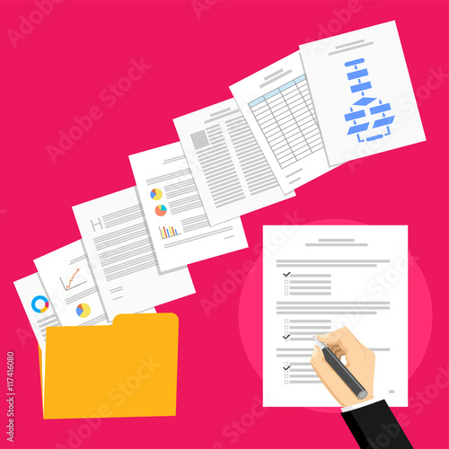 Business Proposal And Business Agreement Business Person Sign An