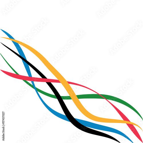 Fotografía  Olympic games vector background