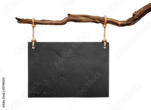 black slate signboard Fototapete