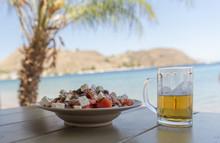 Dakos And Beer, Greek Summer B...
