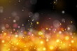 colorful abstract orange bokeh light background