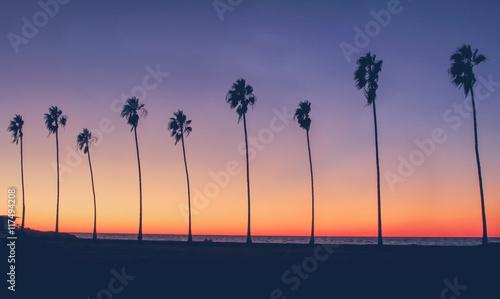 Vintage California Beach Photo