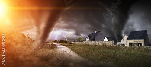 Zdjęcie XXL Wielka katastrofa Tornado