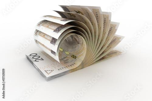 Fotografía  200 PLN banknoty