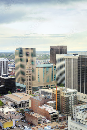 Fototapety, obrazy: Denver downtown, Colorado, USA