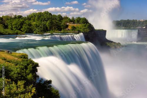 Niagara Falls, NY, USA. Long exposure Fototapeta