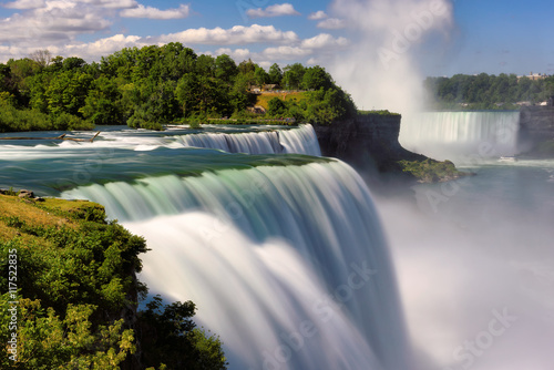 Obraz Niagara Falls, NY, USA. Long exposure - fototapety do salonu