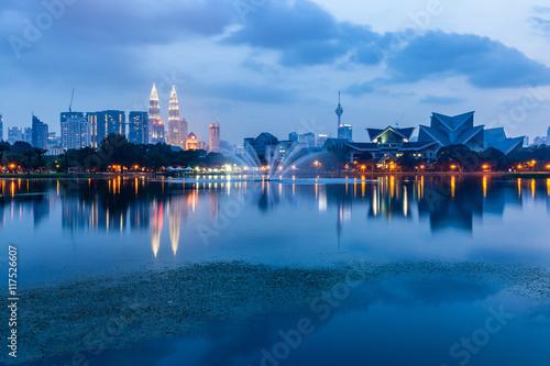 Photo Stands Kuala Lumpur Kuala Lumpur skyline, Malaysia