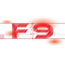 F9 Redprint Font