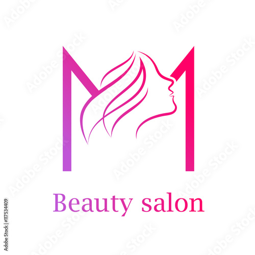 Abstract letter m logobeauty salon logo design template buy this abstract letter m logobeauty salon logo design template altavistaventures Images