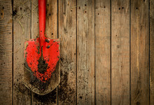 Dirty Red Spade (gardening Too...