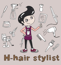 The Professions Hair Stylist I...
