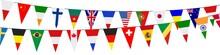 Banner. Garlands, Pennants. International (2g)