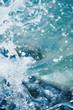 Sea Bright sprays into the chamber macro