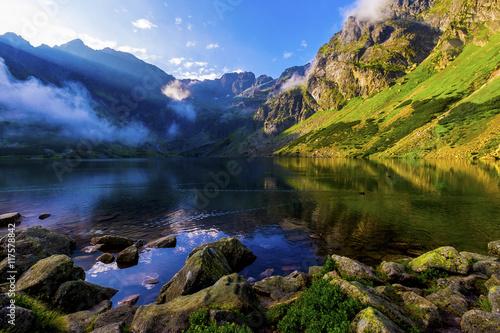 Fototapeta Czarny Staw Gąsienicowy @ Tatra Mountains obraz