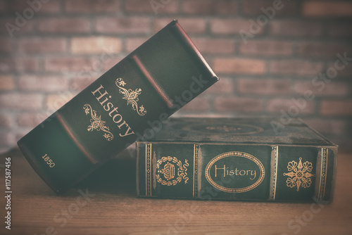 Foto  Old History Book