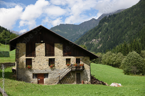 Case Di Montagna In Legno : Chalet baita maso casa di montagna casa in legno buy this stock
