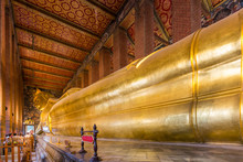 Reclining Buddha Of Wat Po In ...