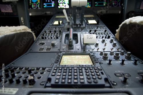cockpit Fototapet