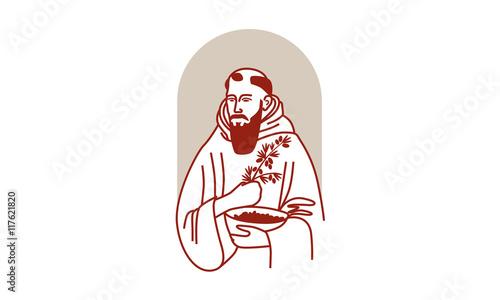 Cuadros en Lienzo Monk