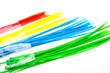 Nylon Cable Ties on white background