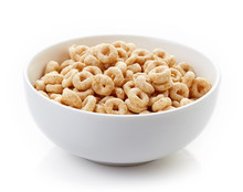Bowl Of Whole Grain Cheerios C...