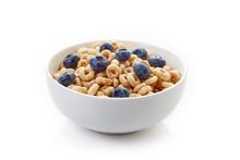 Bowl Of Whole Grain Cheerios C...