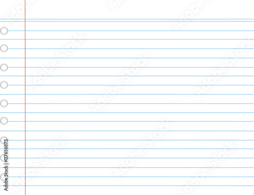 Paper Line Vector Background Detailed Lined Paper Texture