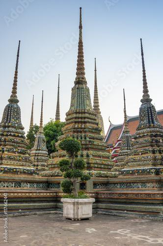 Wat Pho at Bangkok Poster