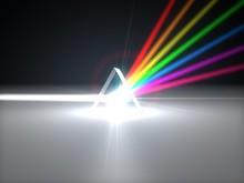 3d Illustration Prism And Refr...