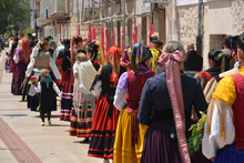 Desfile Con El Traje Regional