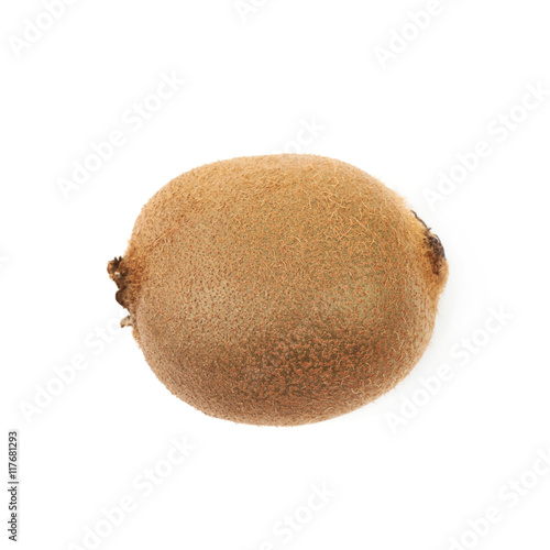 Fotografie, Tablou  Ripe kiwi fruit isolated