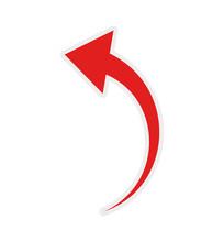 Arrow Curve Direction Infograp...