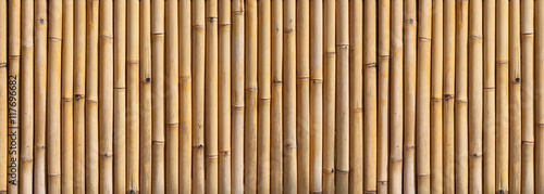 Cadres-photo bureau Bambou Bamboo fence