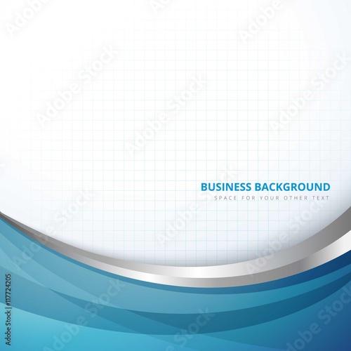 business background in abstract style Billede på lærred