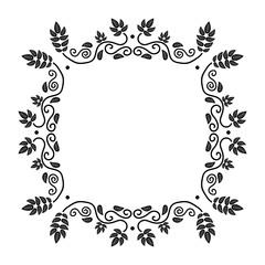 FototapetaVintage frame decoration