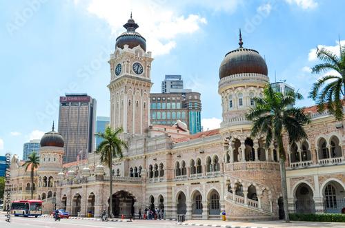 Poster de jardin Kuala Lumpur Iconic Sultan Abdul Samad Building in Kuala Lumpur, Malaysia