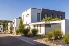 Germany, Esslingen-Zell, Development Area With Passive Houses